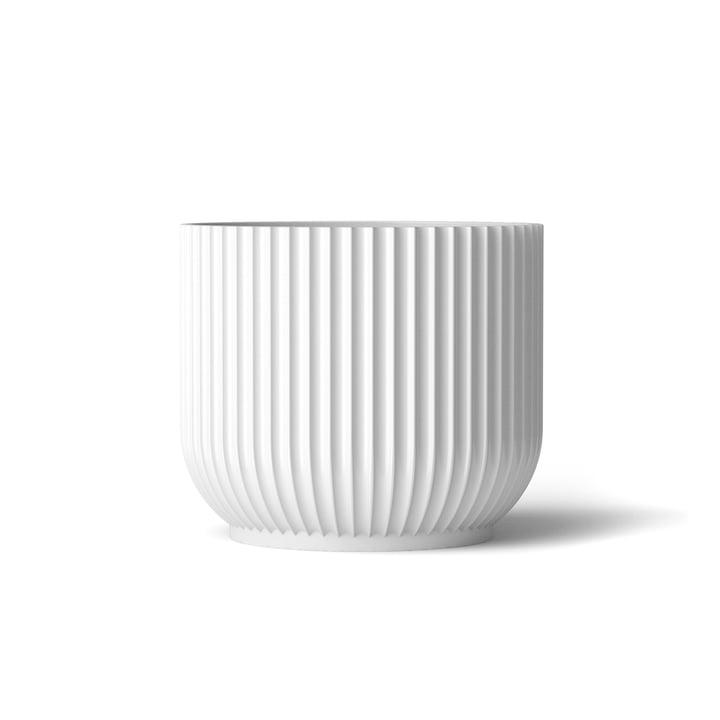 Pot de fleurs M de Lyngby Porcelænen blanc