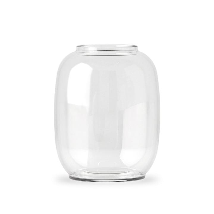 Form Vase Transparent 140/2 de Lyngby Porcelæn