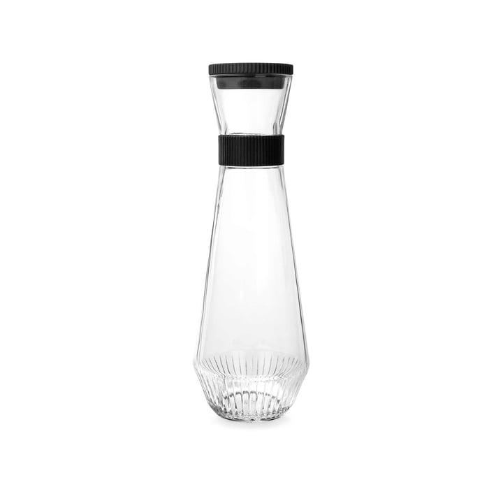 Carafe à eau, 0,9l de Rosendahl en transparent/noir