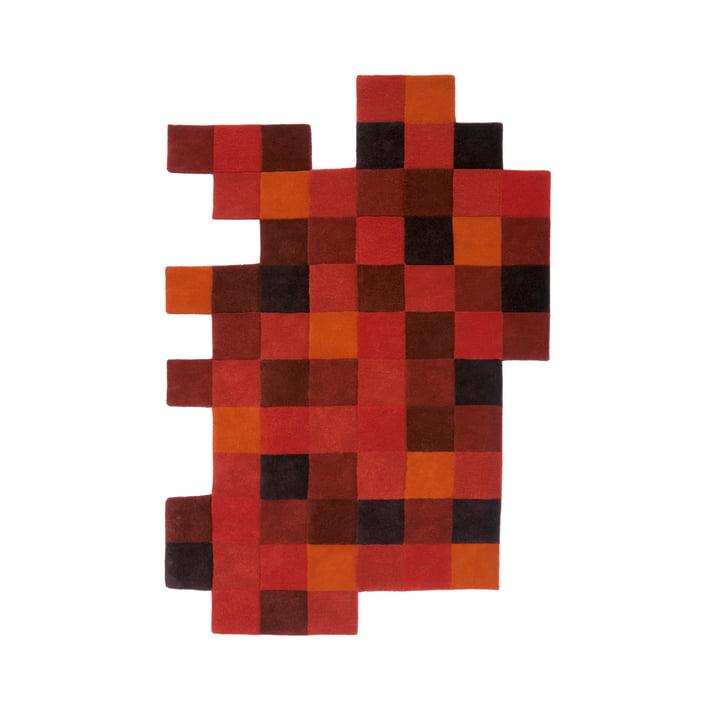 Do-Lo-Rez 1 184 x 276 cm de nanimarquina en rouge