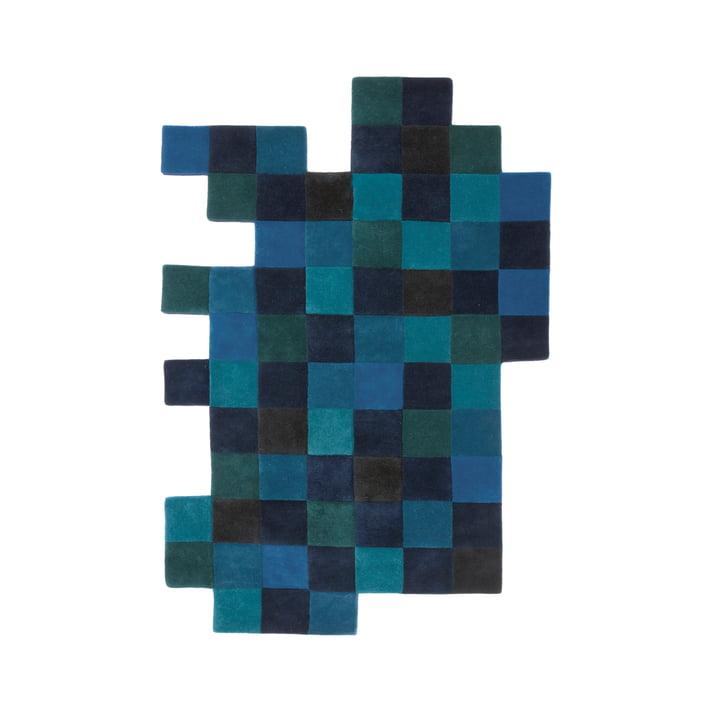 Do-Lo-Rez 1 184 x 276 cm de nanimarquina en bleu