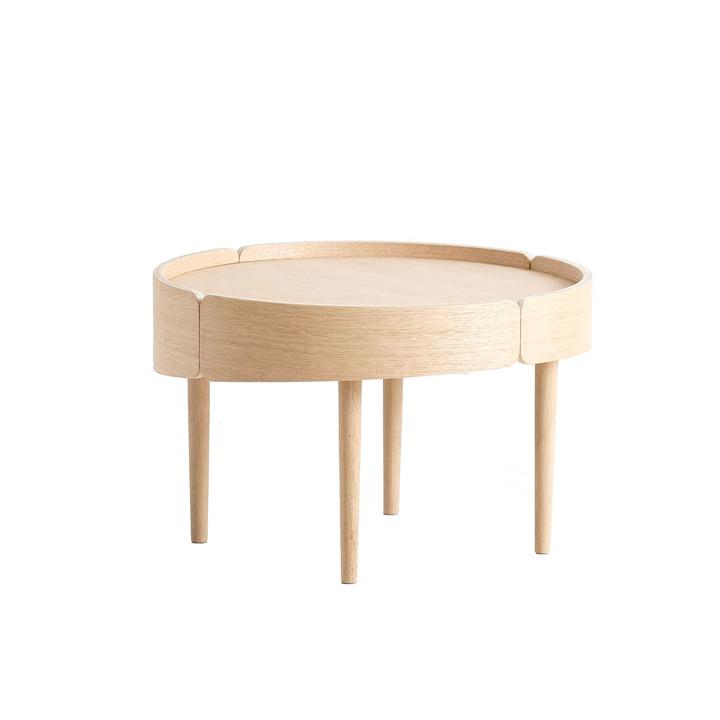 Skirt Coffee Table Ø 60 cm de Woud en chêne