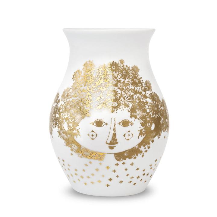 Vase Felicia de Bjørn Wiinblad en couleurs dorées