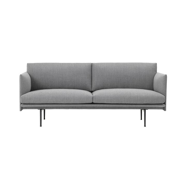Canapé 2places Outline de Muuto en gris