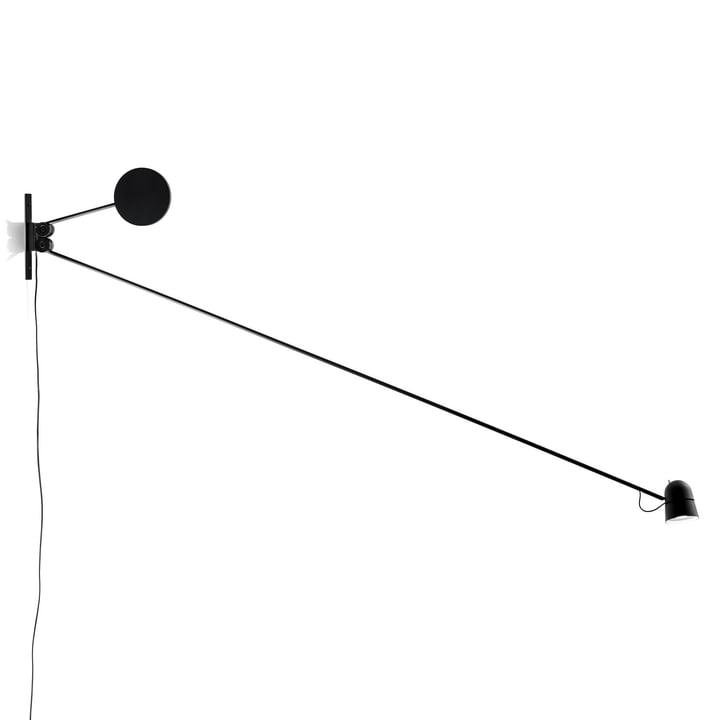 Luceplan - Applique murale Counterbalance en noir