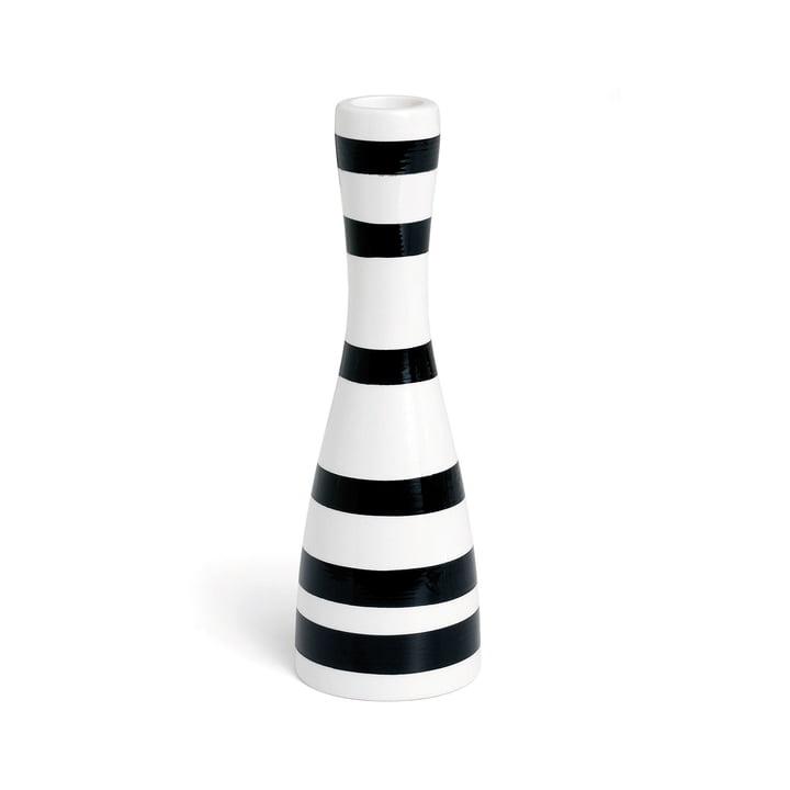 Bougeoir Omaggio 20 cm de Kähler Design en noir
