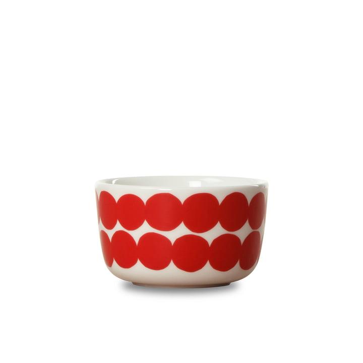 Marimekko - Bol Oiva Räsymatto, 250 ml, rouge / blanc