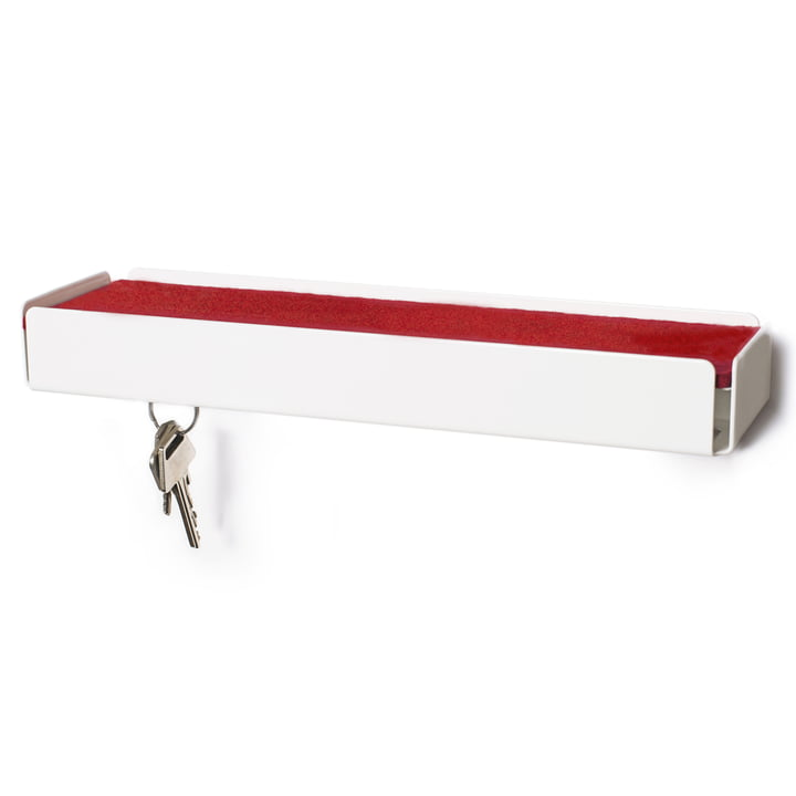 SL35 Key-Box Keybox de Konstantin Slawinski en blanc / feutre rouge