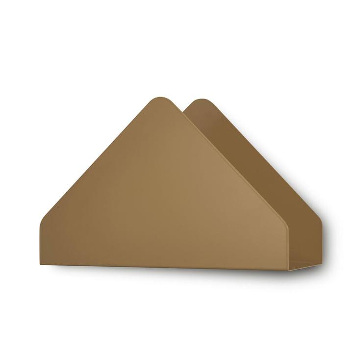 Étagère Kuvert de Skagerak en brun cannelle