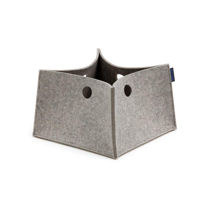La Big Box de Hey Sign, S en gris clair chiné