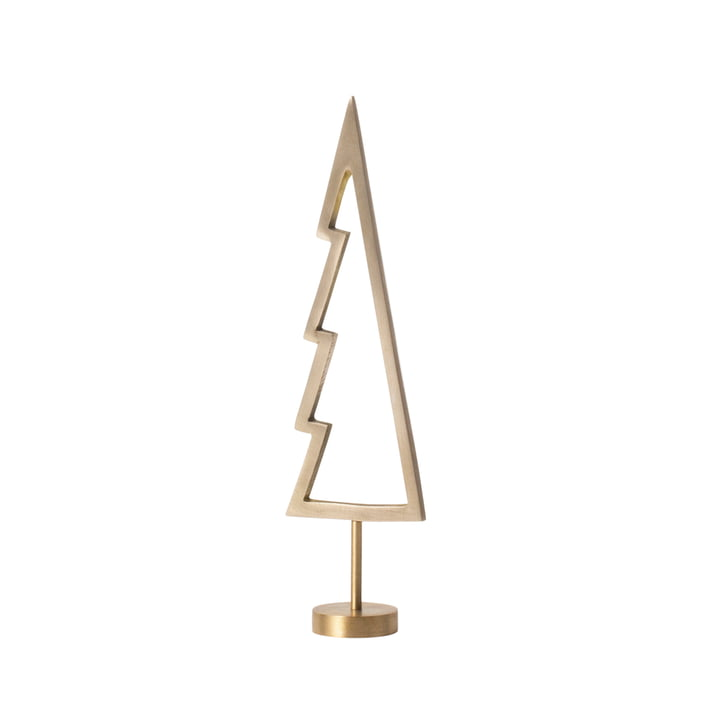 Winterland Brass Tree Outline de ferm Living