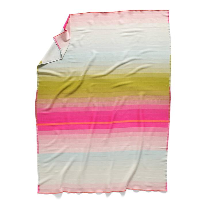 Couverture en laine Colour Plaid, couleur: Nr. 3 de Hay