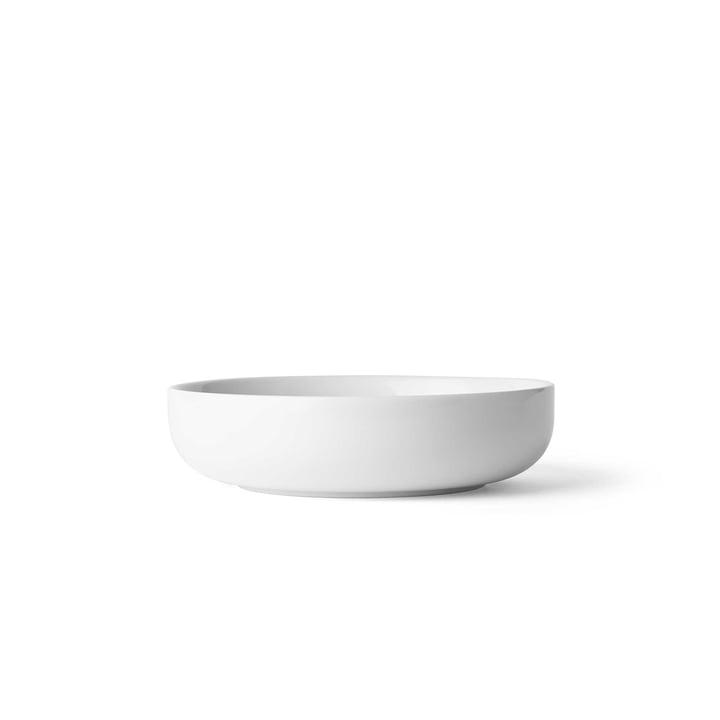 Bol New Norm Ø 13,5cm Low de Menu en blanc