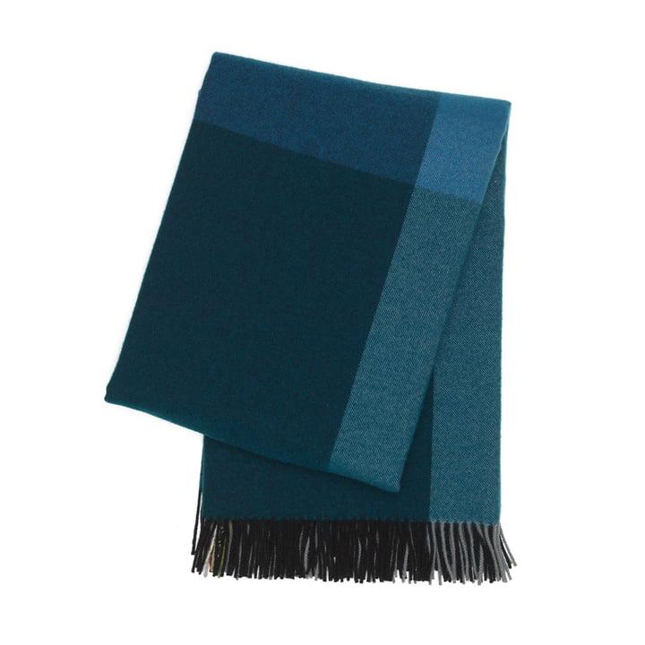Couverture Colour Block de Vitra en noir et bleu