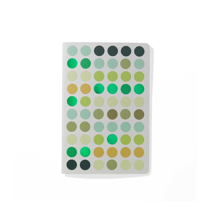 Dot Notebook A6 de Vitra en vert