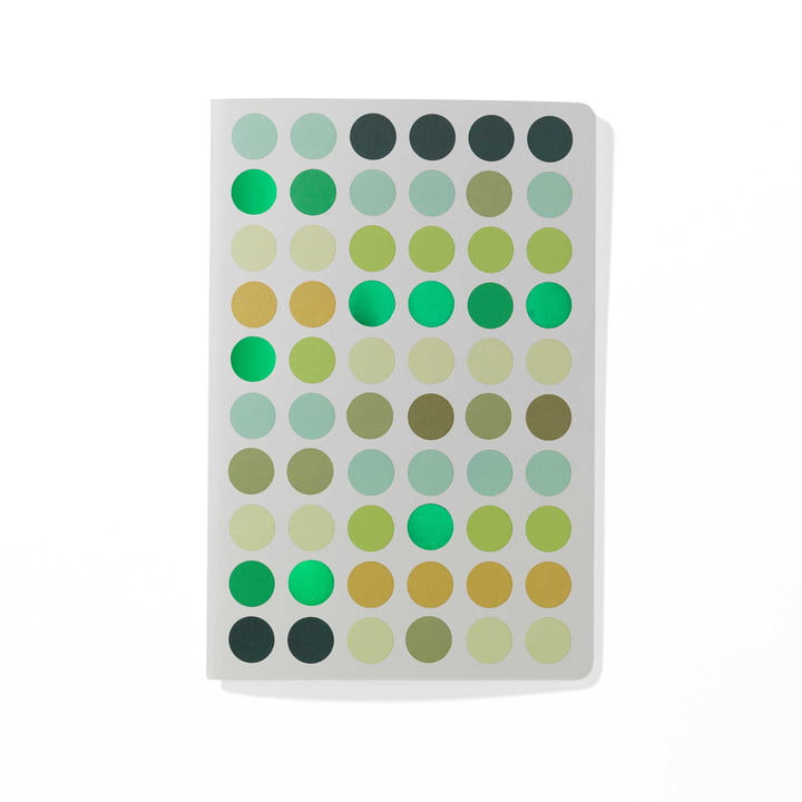 Dot Notebook A5 de Vitra en vert