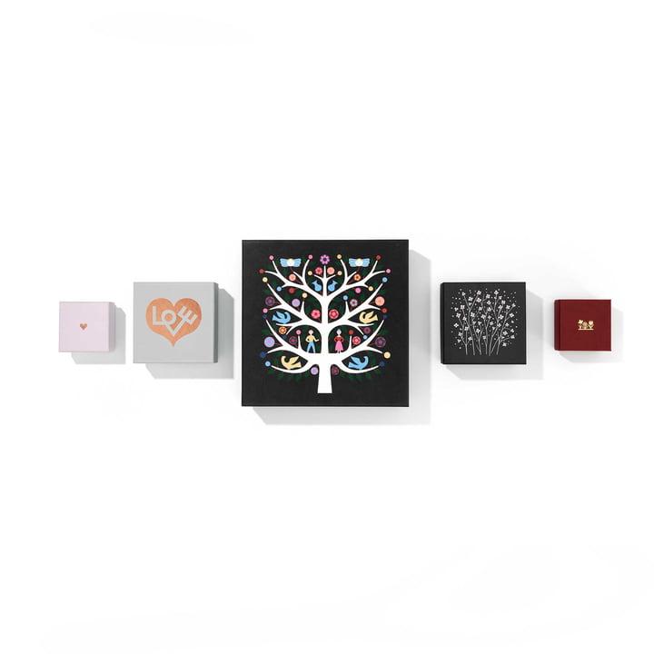 Graphic Boxes d'Alexander Girard pour Vitra
