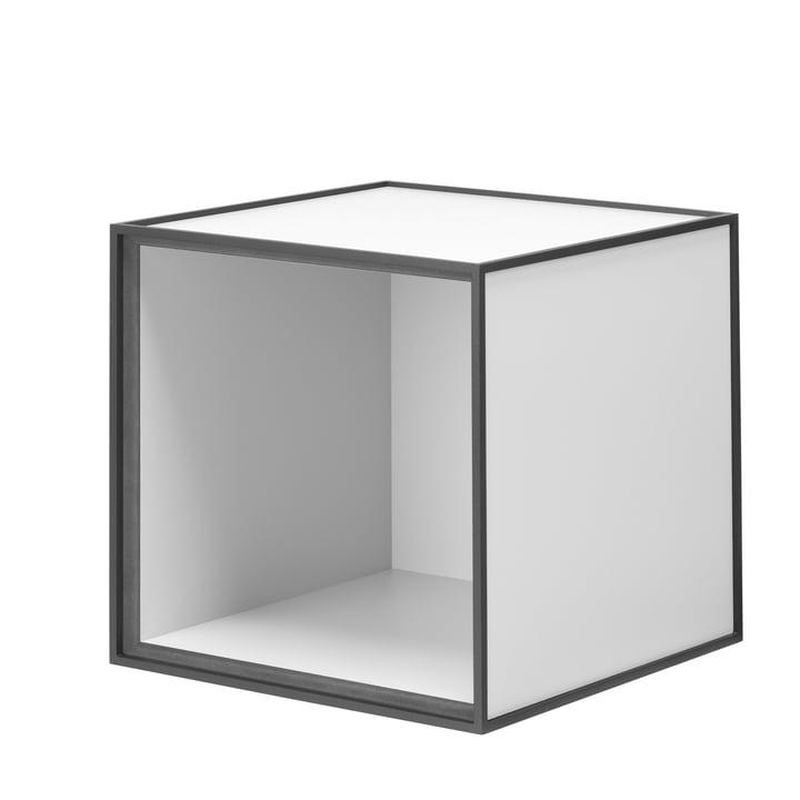 Module d'étagère Frame28 de by Lassen en gris clair
