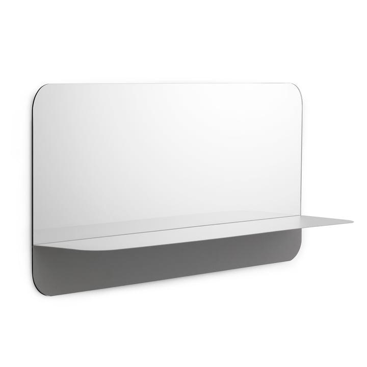 Miroir Horizon horizontal de Normann Copenhagen en gris