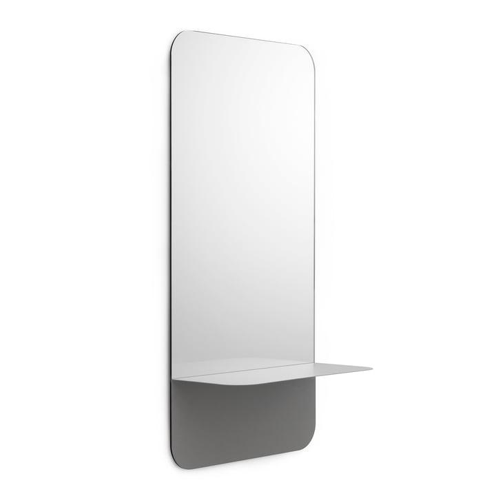 Miroir Horizon vertical de Normann Copenhagen en gris
