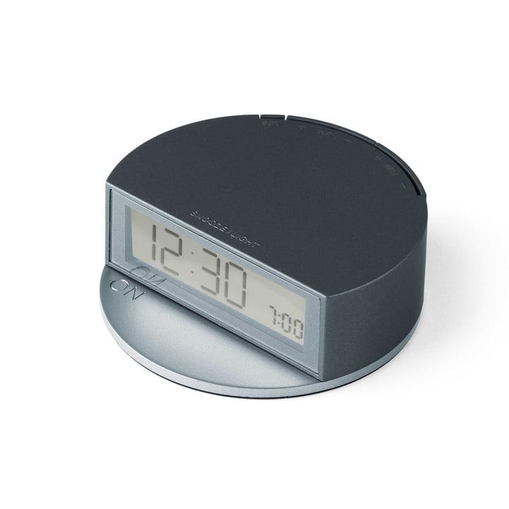 Fine Clock de Lexon en bleu/gris