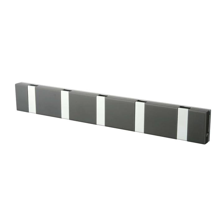 Portemanteau 5patères Knax Lite de LoCa en gris