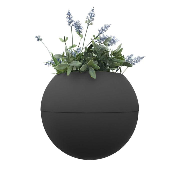 Le pot de fleurs ballcony bloomball de rephorm en anthracite