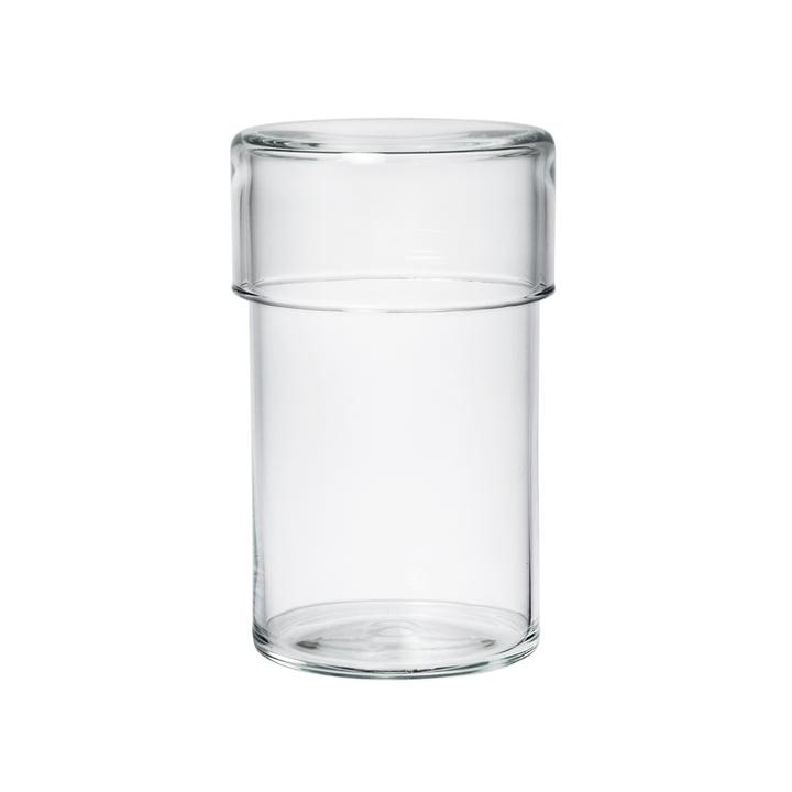 Raumgestalt - Bocal en verre avec couvercle en version haute