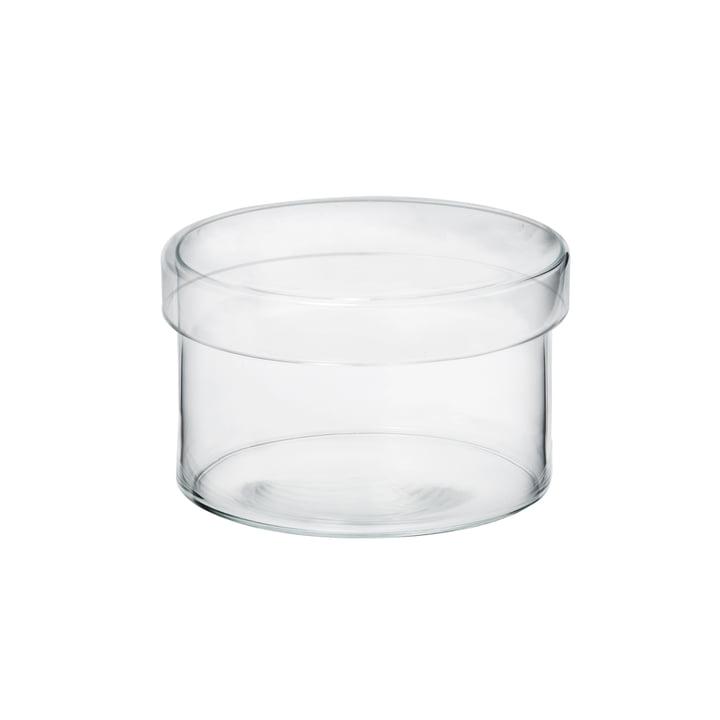 Raumgestalt - Bocal en verre avec couvercle en version moyenne