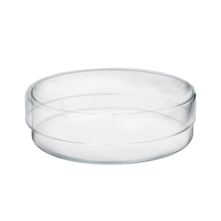 Raumgestalt - Bocal en verre avec couvercle en version plate