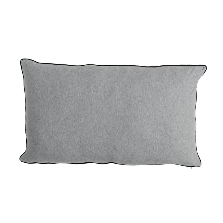 The Bloomingville - Coussin Jersey 90 x 50 cm en gris clair