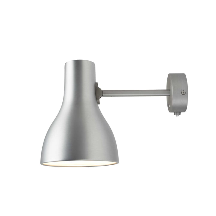 Applique murale Type 75 d'Anglepoise en Brushed Aluminium