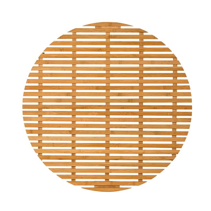 bloomingville tapis de salle de bain bambou. Black Bedroom Furniture Sets. Home Design Ideas