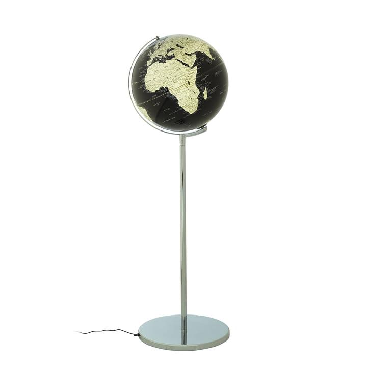 Globe sur pied Sojus d'emform en noir