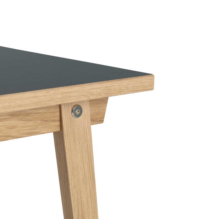 Normann Copenhagen - Table Slice en linoléum