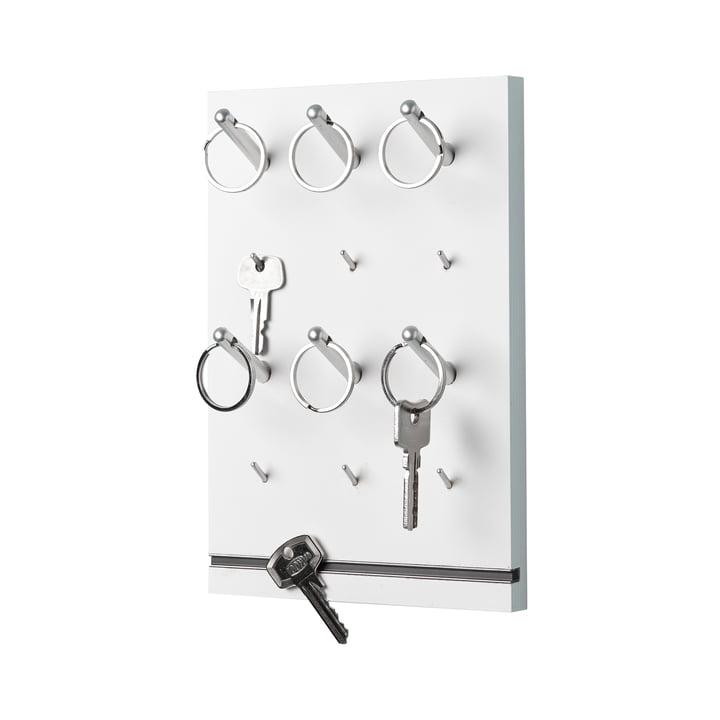 Müller Möbelwerkstätten - Panneau à clés Pin, blanc