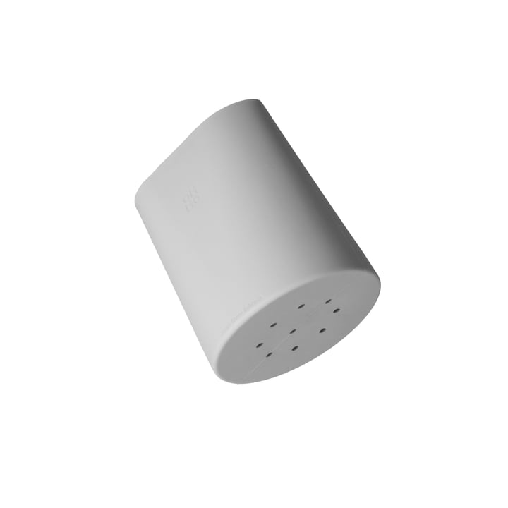 Le pot à ustensiles Hub d'Ommo en gris