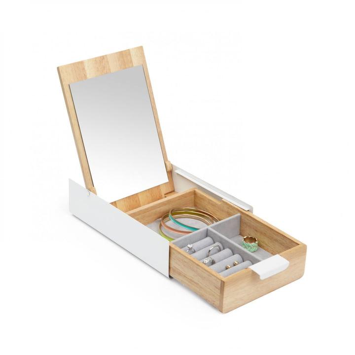 Umbra - Reflexion Box, naturel/blanc