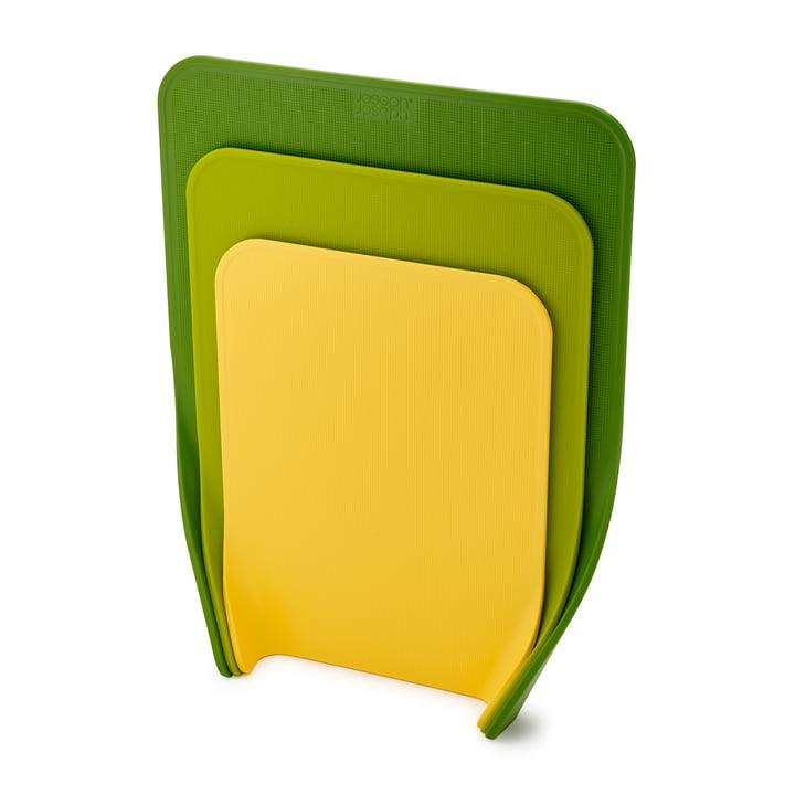Planches à découper Nest Chop (3 pièces) de Joseph Joseph en vert