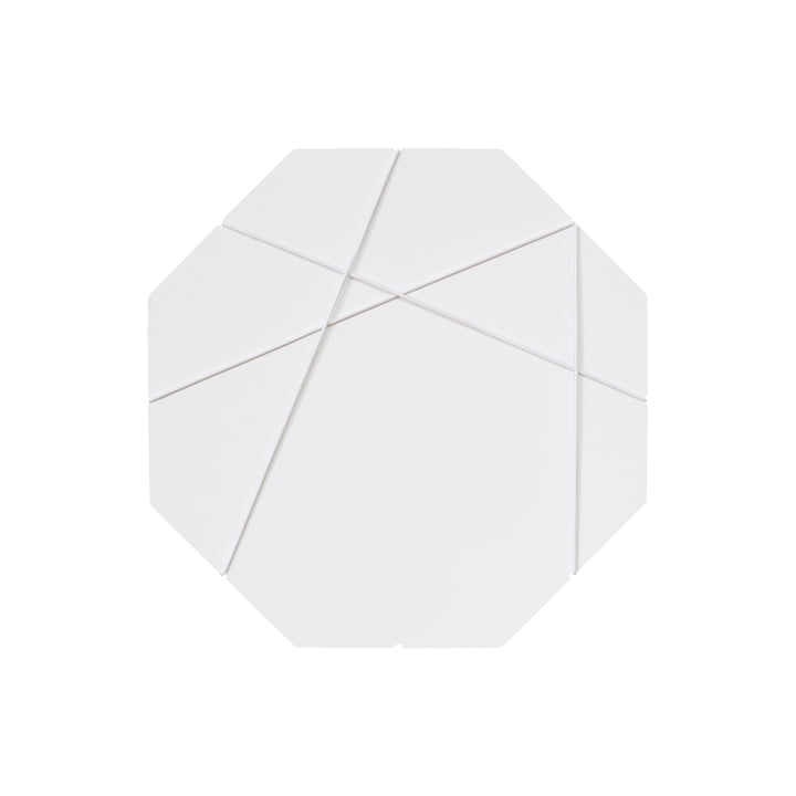 Nichba Design - Tableau magnétique A4, blanc