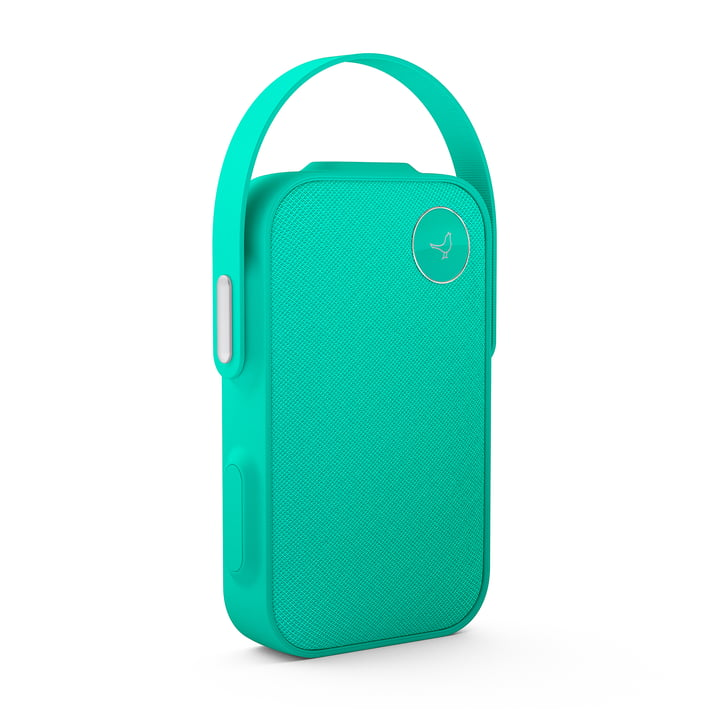 L'enceinte Bluetooth One Click de Libratone, caribbean green