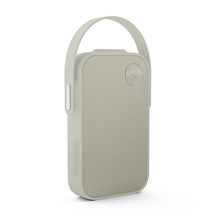 L'enceinte Bluetooth One Click de Libratone, cloudy grey