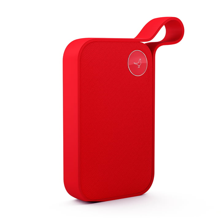 L'enceinte Bluetooth One Style de Libratone, cerise red