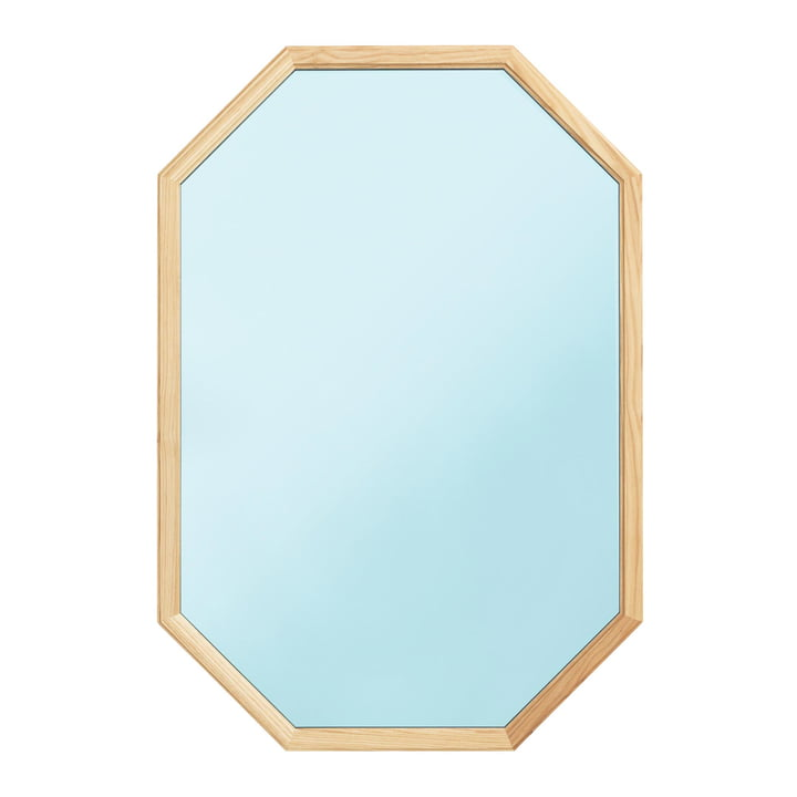 Normann Copenhagen - Lust Mirror 80 x 55 cm, bleu