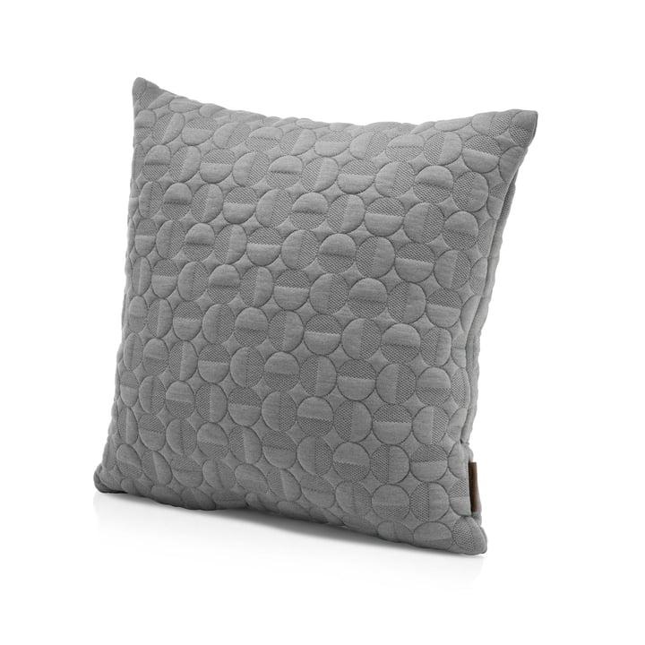 Fritz Hansen - Coussin Vertigo, 50 x 50 cm, couleur gris clair