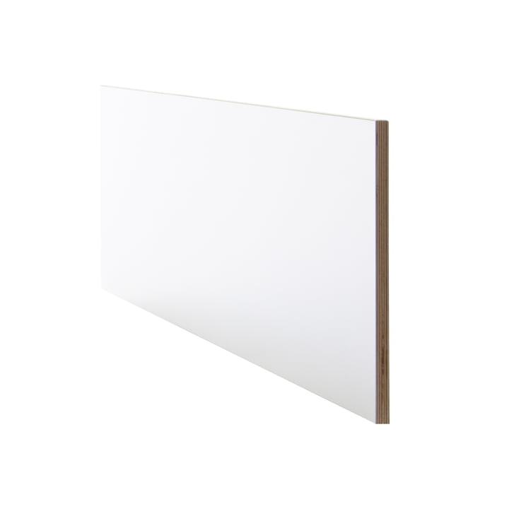 Tête de lit pour le lit Flai de Müller Möbelwerkstätten en blanc