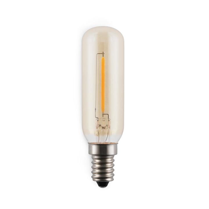 Ampoule LED Amp E12-E14/2 W, transparente de Norman copenhagen