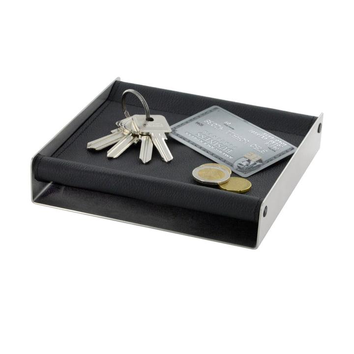 mono - Plateau pour accessoires depot - 16 x 16 cm - noir