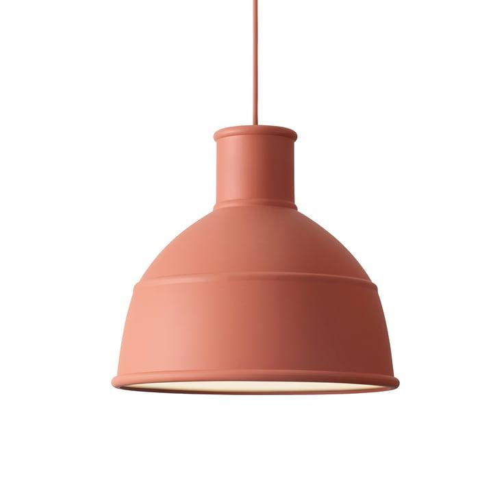 Unfold Pendant Lamp by Muuto in Terracotta