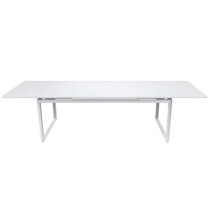 Table à rallonges Biarritz par Fermob en blanc coton